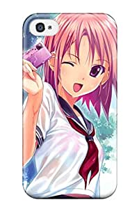 Hot redheads wet cameras shortanime Anime Pop Culture Hard Plastic iPhone 4/4s cases 9517352K258022640