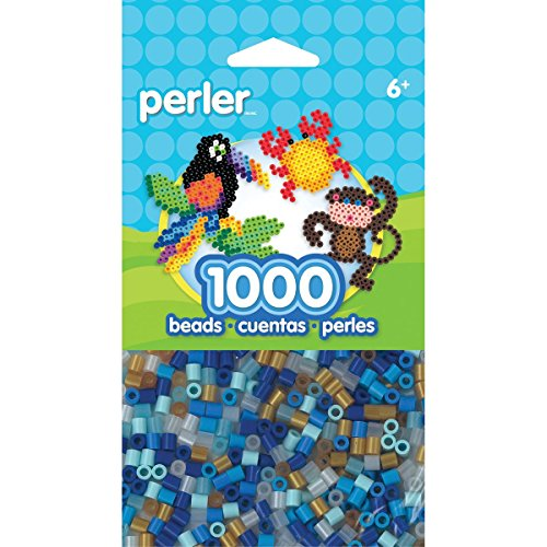 - Perler Beads Holiday Winter Mix Bead Bag, 1000 Count