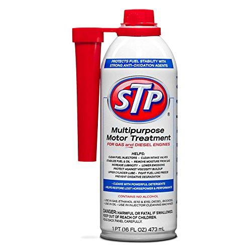 STP 78588 Multi-Purpose Motor Treatment Fuel Stabilizer with Spout, 16 fl. oz, Fluid_Ounces