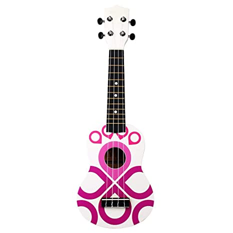 NING-MENG Venta caliente Ukulele 4 Cuerdas Música Guitarra ...