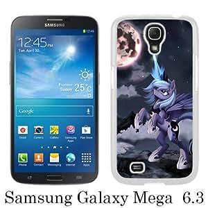 Samsung Mega 6.3 Phone Case,My Little Pony (2) White Pattern Cool Design Samsung Galaxy Mega 6.3 Cover Case