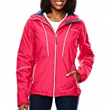 Women's Columbia Thermal Coil Snow Daze Insulated Winter Jacket (Large, 639 Ruby Red)