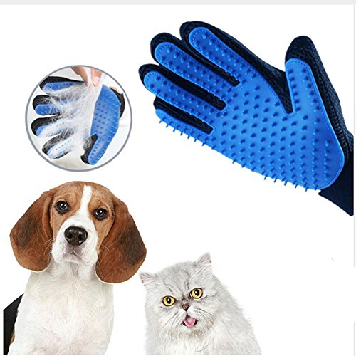 Bydubee Pet Dog Hair Brush Comb Glove for Pet Cleaning Massage Glove for Animal Cleaning Cat Hair Glove Pet Grooming Supply