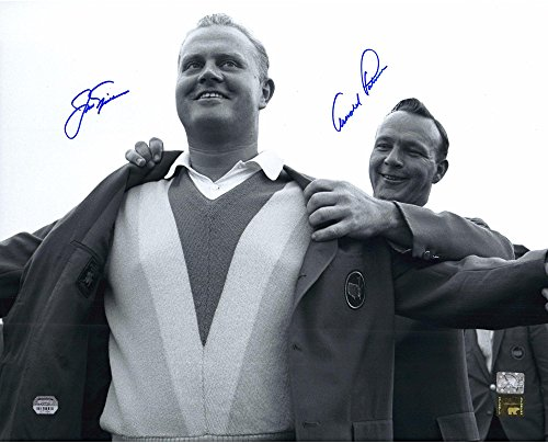 """Jack Nicklaus & Arnold Palmer Autographed 16"""" x 20"""" 1965 Masters Presentation Photograph - Fanatics Authentic Certified"""