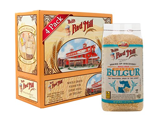 Bob's Red Mill Golden Bulgur / Soft White Wheat Ala, 28-ounce (Pack of 4) (Best Chicken Ala King)