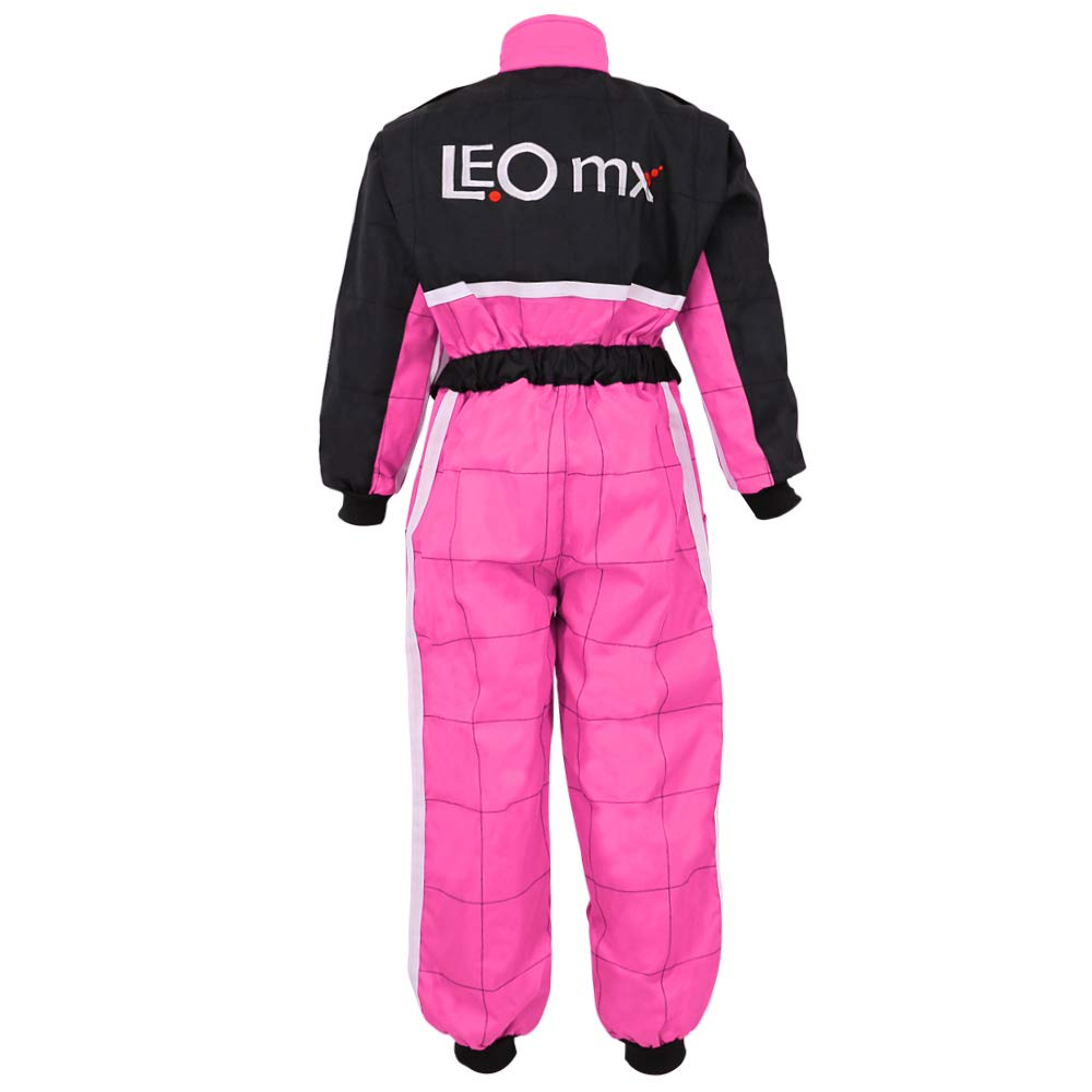 51-52cm Leopard LEO-X18 Butterfly Kids Motocross Helmet M /& Gloves M /& Goggles 6cm 3-4Yrs Children Kids Motorbike Race Suit XS