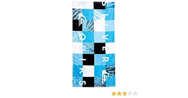 Quiksilver Check Toalla para Hombre, Check Towel M Bhsp, Azul, Talla única: Amazon.es: Deportes y aire libre