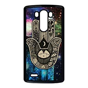 Personalized Durable Hard Case Cover for LG G3 - Hamsa Case Cover