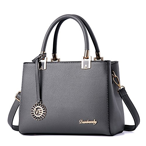 Simple Ladies a Diagonal Handbags New a Gray Fashion Xwan Black And XHRwnUgqq