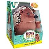 Creativity for Kids Sequin Pets Stuffed Animal - Happy the Hedgehog