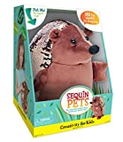 Creativity for Kids Sequin Pets Hedgehog Stuffed Animal, Brown