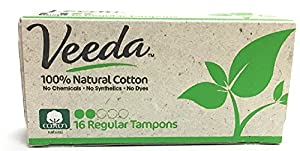 Veeda,100% Hypoallergenic, Natural Cotton, Chemical Free