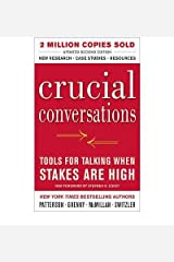 CRUCIAL CONVERSATIONS : TOOLS FOR TALKING WHEN STAKE AR Unknown Binding