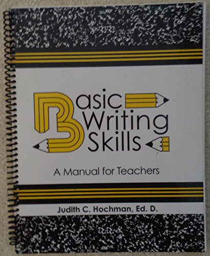 Basic Writing Skills - A Manual for Teachers 9th edition