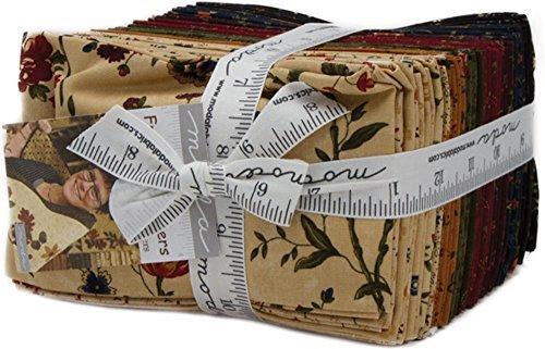 Kansas Troubles Fresh Cut Flowers 40 Fat Eighths Moda Fabrics ()