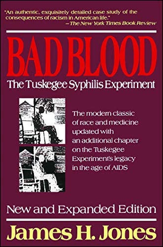 Audiobook cover from Bad Blood: The Tuskegee Syphilis Experiment, New and Expanded Edition by James H. Jones