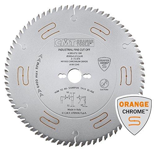 Chrome Heavy Duty General Purpose Saw Blades - D 250mm   T 40   B 30mm   K .126   P .087 (Best Table Saw Uk)