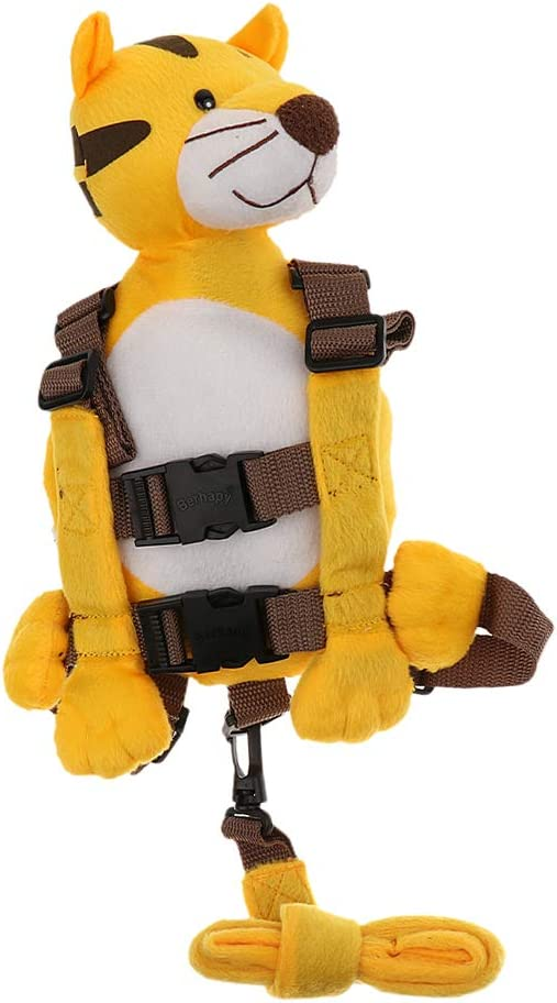 Safety Harness Leash Strap Kid Walking Backpack Reins Bag Elephant as described