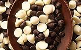 Maayaa's Premium Dark & White Blend of Chocolate Chips, Chocochips (200)