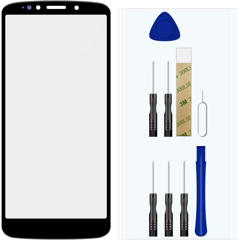 for T-Mobile/MetroPCS Motorola Moto E5 Plus XT1924-7 Front Outer Glass Lens Screen Replacement Repair Tool Kit(No LCD Touch Digitizer)