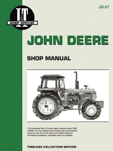 John Deere Shop Manual 4050 4250 4450 4650+ (I & T Shop Service) (I T Shop Manuals)