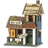 Gifts & Decor Fishing Lodge Bird House/Feeder