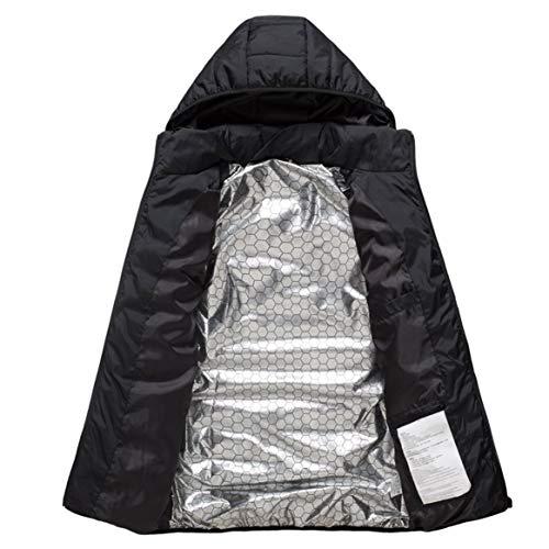 De Thermique Chauffage Veste M Gilet Softshell En Électrique Noir Plume Femme Hiver Vêtements Chauffé Homme Manteau OxRCx7qw