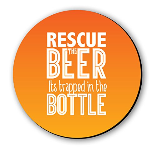 Seven Rays Multipurpose Rescue The Beer Fridge Magnet  3x3inch