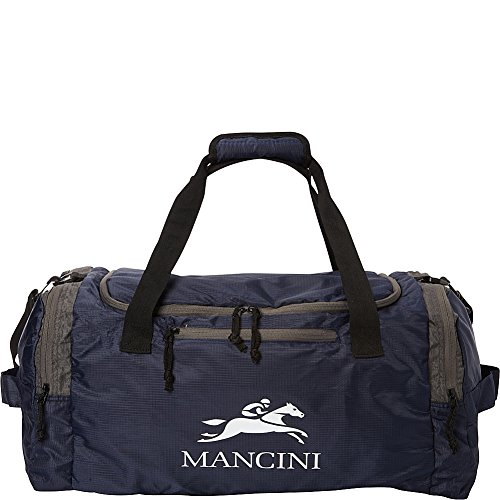 mancini-leather-goods-travel-packable-duffle-bag-navy-blue