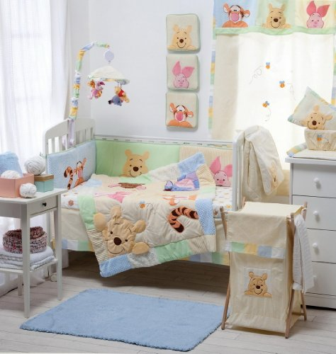 [Hiding Pooh] Crib Bedding Set Bedding Collection Accesory - Hamper / Laundry Basket