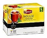 Lipton KCup Vanilla Black Tea Indulge, 12ct (Pack of 18)