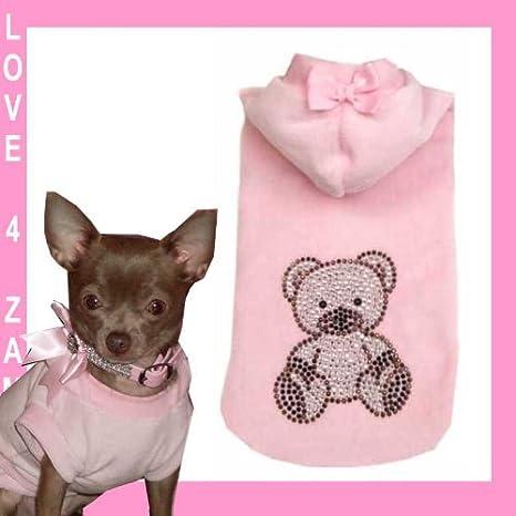 XS bärli Chihuahua perro perros - Sudadera para mujer para pequeños perros mano: Amazon.es: Productos para mascotas