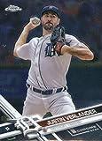 2017 Topps Chrome #93 Justin Verlander Detroit Tigers Baseball Card