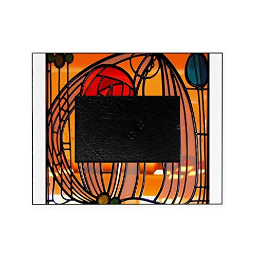 CafePress - Charles Rennie Mackintosh Stained Glass Picture Fr - Decorative 8x10 Picture Frame