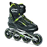Roces Xenon Inline Skates - 10.5/Black-Acid Green