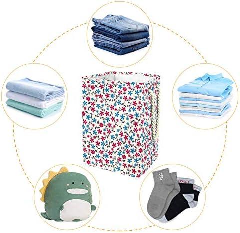Tizorax Grand panier à linge avec poignées pour chambre à coucher, salle de bain, dortoir