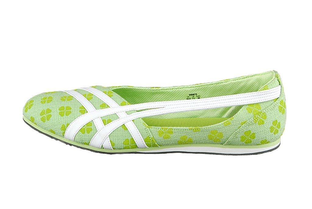 neue Stile Großhandelsverkauf 50-70% Rabatt ASICS Ballerina Izzy Lime White: Amazon.co.uk: Shoes & Bags
