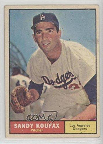 Sandy Koufax (Baseball Card) 1961 Topps - [Base] #344
