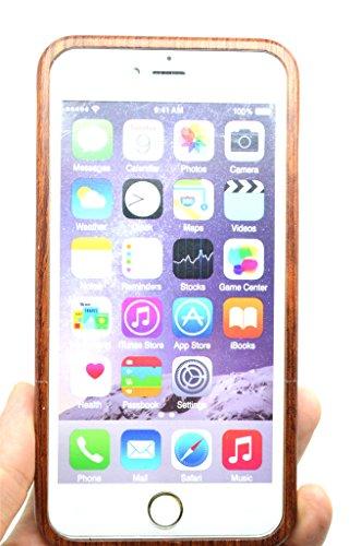 iPhone 6 Hülle (4,7 Zoll), Holzsammlung® Holz Tasche für iPhone 6 (Roseholz Adam und Eva) - Holzsammlung® Handgefertigt Hölzernen Fall und Abdeckung für Ihr Smartphone und Tablet PC