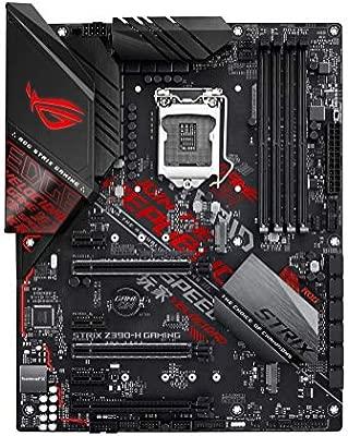 ASUS ROG Strix Z390-H Gaming LGA1151 (Intel 8th and 9th Gen) ATX DDR4 DP HDMI M.2 USB 3.1 Gen2 Gigabit LAN Gaming Motherboard