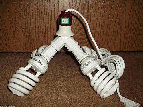 400 WATT CFL GROW LIGHT KIT- CORD INCLUDED- FOR VEG