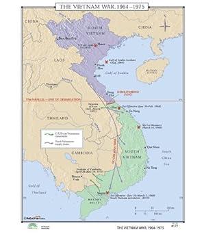 Vietnamkrieg Karte.Universal Karte 30467 177 Vietnamkrieg 1964 1975 Backboard