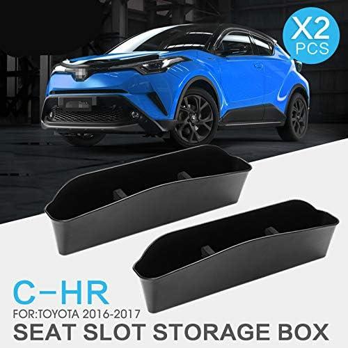 Linfei Sitz Schlitz Aufbewahrungsbox Tasche Für Toyota C Hr 2016 2020 Sitz Atorage Box Auto Sitz Lücke Aufbewahrungsbox Innen Zubehör Auto