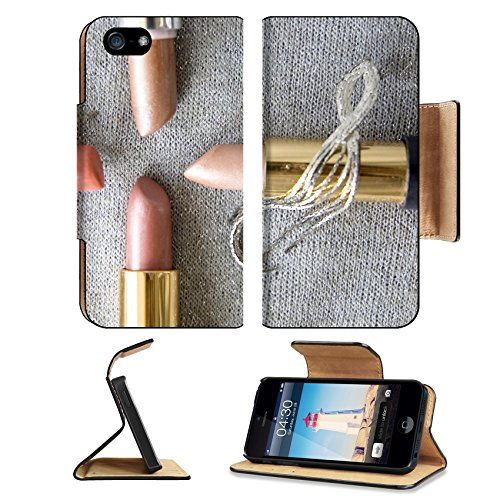 msd-premium-apple-iphone-5-iphone-5s-flip-pu-leather-wallet-case-four-pink-shade-lipstick-on-glitter