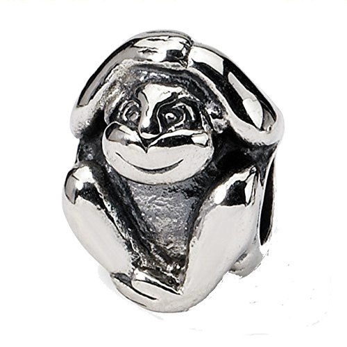 Sterling Silver Reflections Monkey - 4