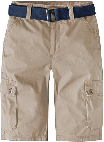 Levi's Boys' Big Cargo Shorts, Incense, 16 by Levi's