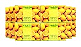 Lemon Soap (Lemon Basil Bar Soap) - Handmade Herbal Soap (Aromatherapy) with 100% Pure Essential Oils - ALL Natural - Natural Skin Whitener - Each 2.65 Ounces - Pack of 12 (32 Ounces, 2 Lb) - Vaadi Herbals