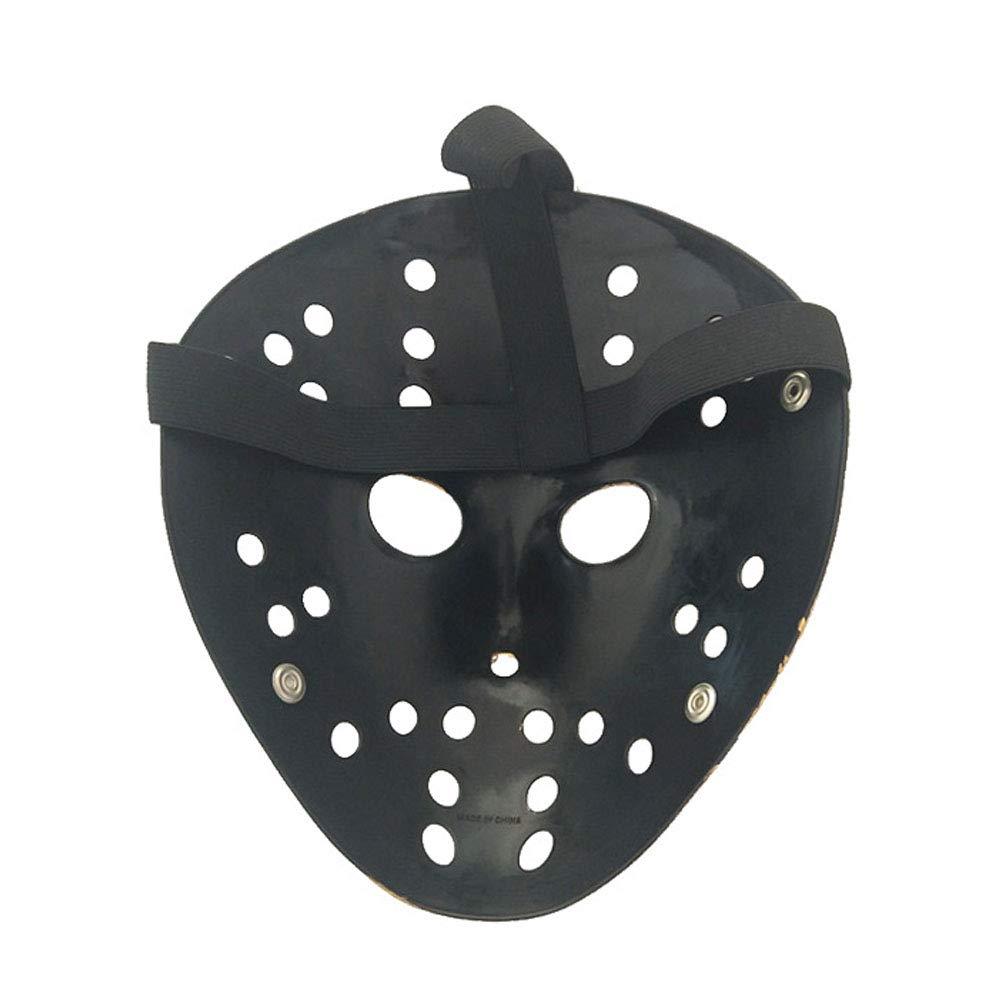 WSLG Horror Killer Máscara Oro De La Vendimia Jason Voorhees Freddy Hockey Festival Partido De La Mascarada De Halloween,Gold: Amazon.es: Deportes y aire ...