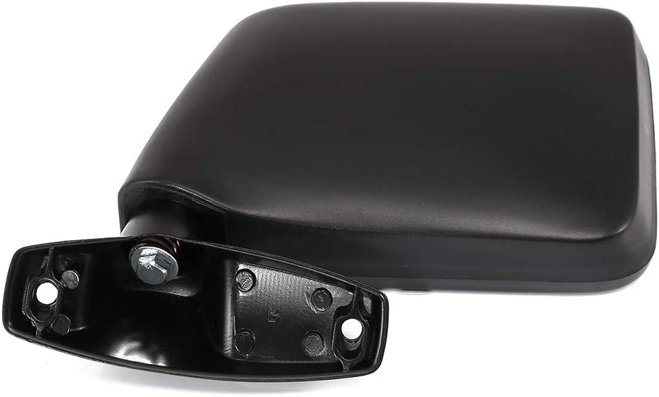 ROADFAR Side Mirror Compatible with 1983-1992 Ford Ranger 1984-1990 Ford Bronco II Left Side Manual Adjustment Manual Folding Non-Heated