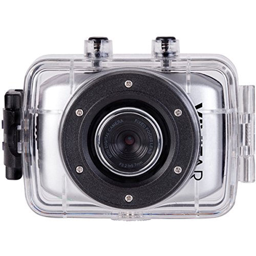 Vivitar DVR781HD-SIL HD Action Cam, Silver